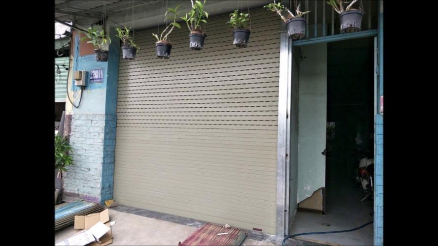 lắp đặt cửa cuốn tại Tân Uyên